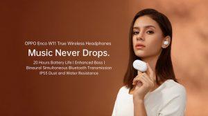 oppo enco w11 TWS earphones